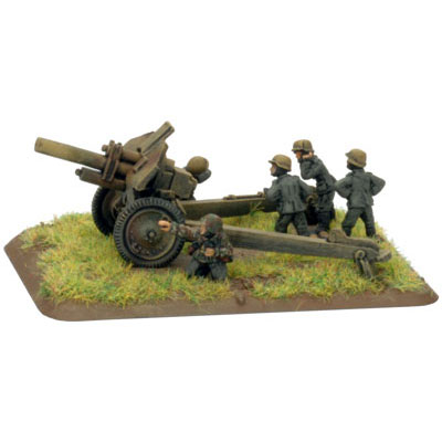Captured Artillery in German Infanterie divisions Normandy 1944