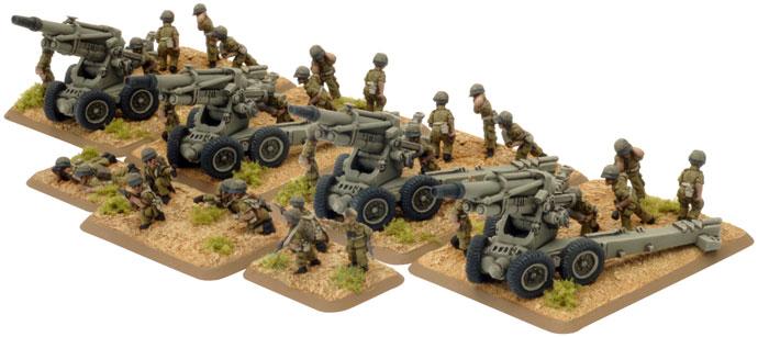 Artillery HQ & Crew (AIS729)