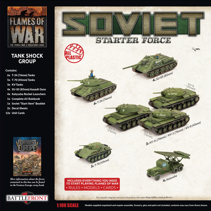 Late War Army Deal Previews