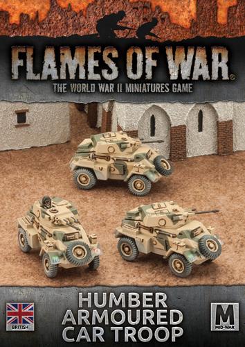 Humber Armoured Car Troop (BBX34)