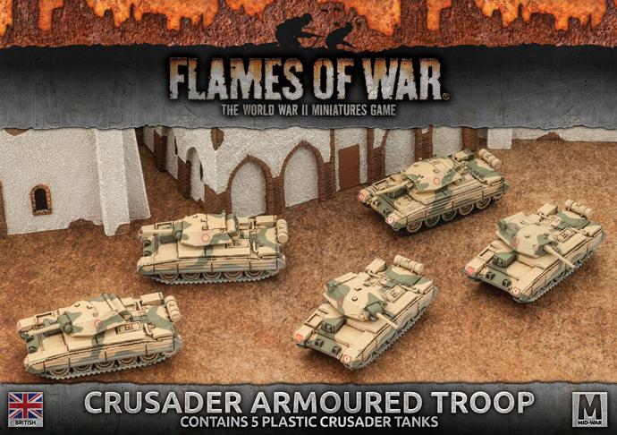 Crusader Armoured Troop (Plastic) (BBX39)