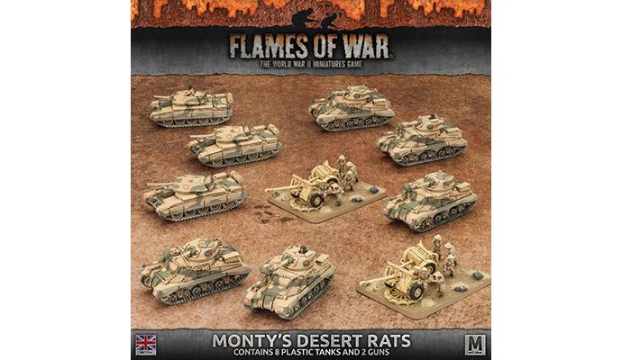 Monty's Desert Rats (Plastic) (BRAB09)