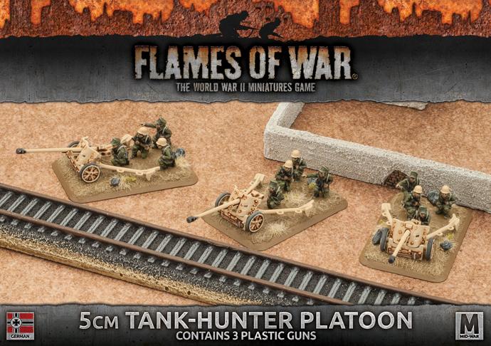 5cm Tank-hunter Platoon (Plastic) (GBX93)