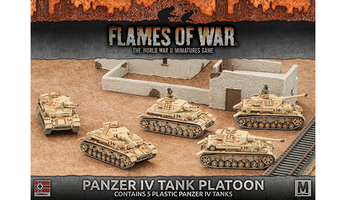 Panzer IV Tank Platoon (Plastic) (GBX97)