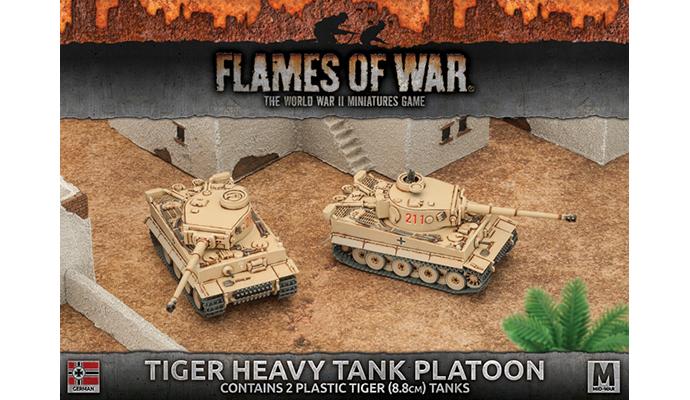 Tiger Heavy Tank Platoon (Plastic) (GBX99)