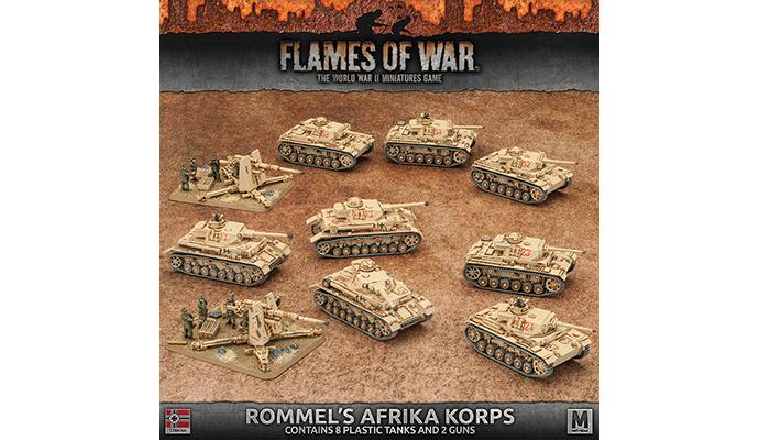 Rommel's Afrika Korps (Plastic) (GEAB14)