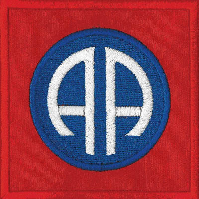 US 82nd Airborne Patch