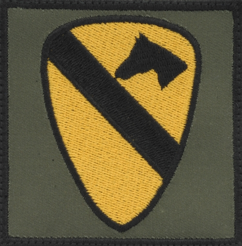 1st Cavalry Division (Airmobile) Patch (BAGP16)