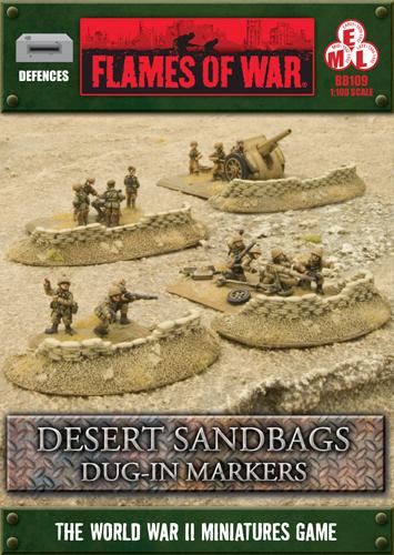Desert Sandbags Dug-in Markers (BB109)