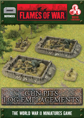 Gun Pits Log Emplacements (BB119)