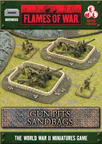 Gun Pits Sandbags (BB120)
