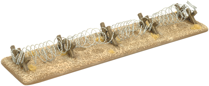 Desert Barbed Wire Obstacles (BB129)