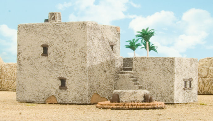 Large Desert Building (BB134)