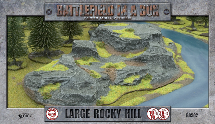 Large Rocky Hill (BB502)