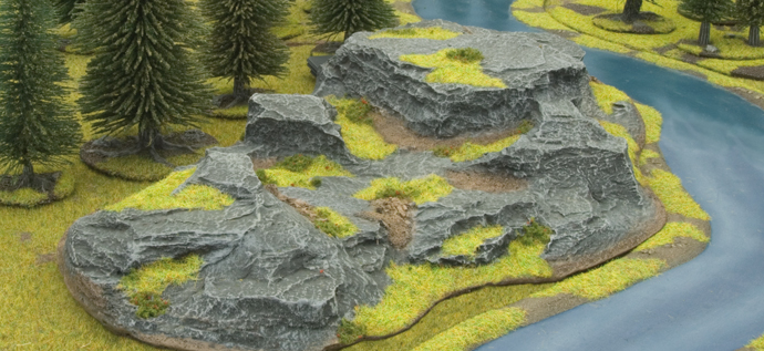 Battlefield in a Box: Large Rocky Hill (BB502)