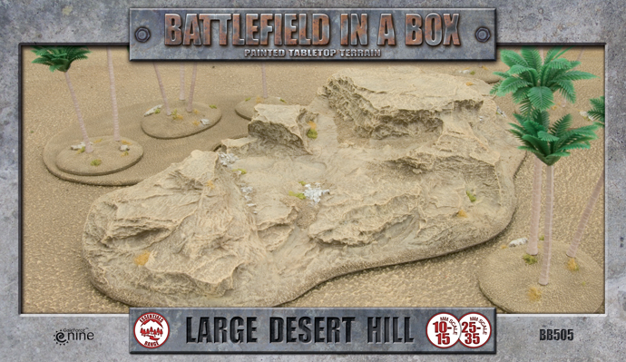 Large Desert Hill