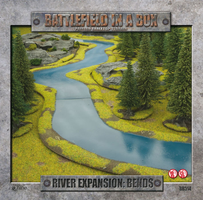 Battlefield in a Box - River Expansion: Bends Box Front (BB512)