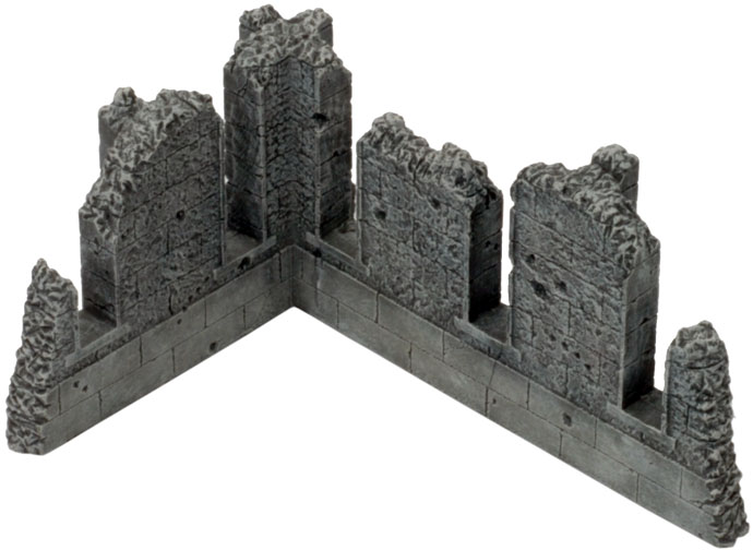 Battlefield in a Box - Gothic Runied Walls (BB519)