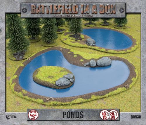 Battlefield in a Box: Ponds (BB530)