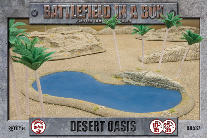 Battlefield in a Box: Desert Oasis (BB537)
