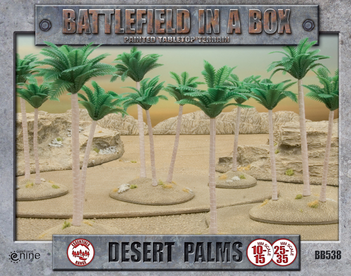 Battlefield in a Box: Desert Palms (BB538)