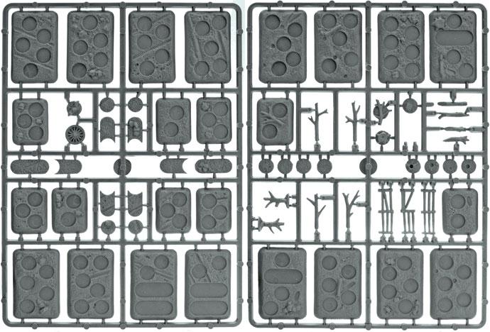 Plastic Bases: Rural (XX107)