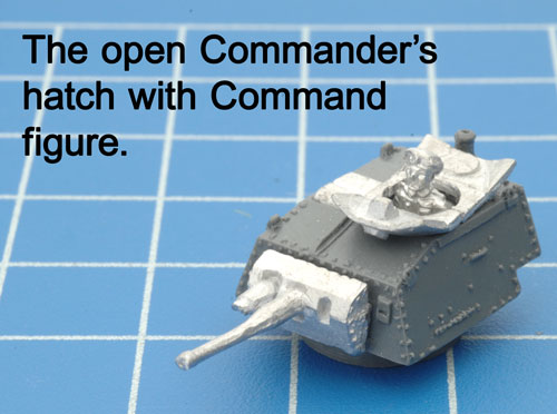 The open hatch with a Command figure