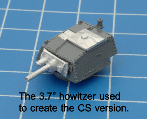 The CS version turret