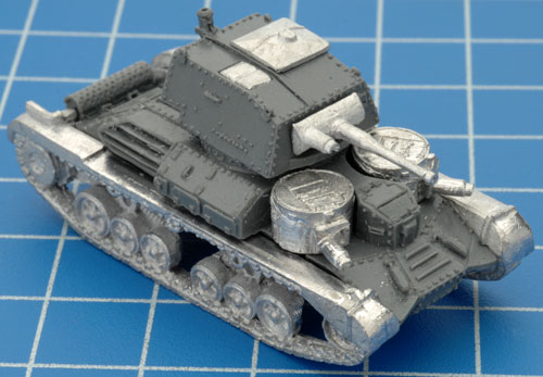 The completed A9 Cruiser Mk I