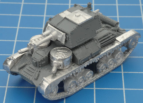 The completed A9 Cruiser Mk I CS