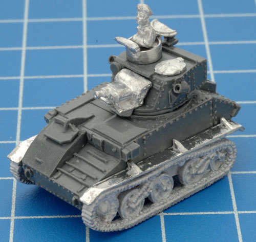 The completed Light Tank Mk VI B