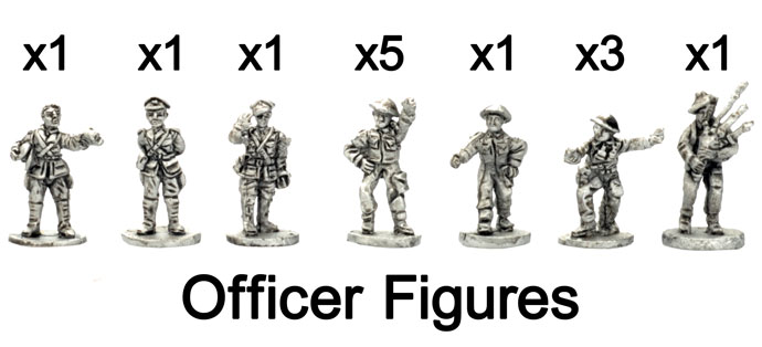 The British Officer figures