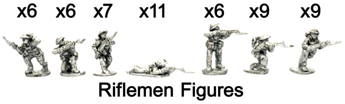 The Riflemen figures