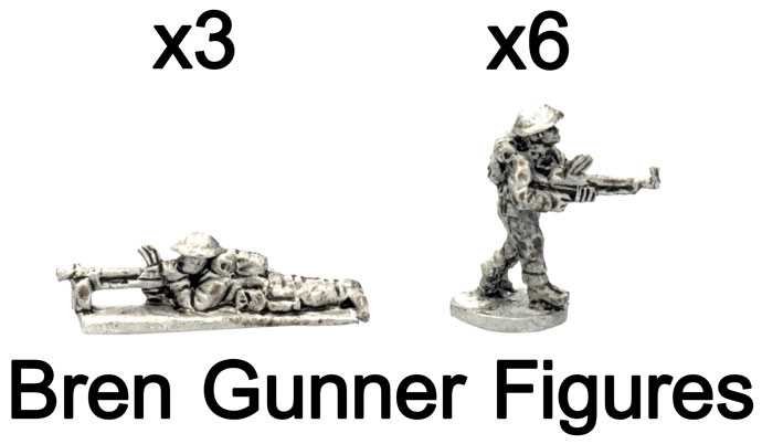 The Bren Gunner figures