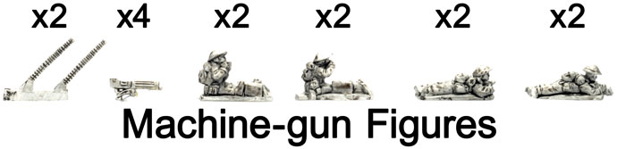 The Machine-gun figures