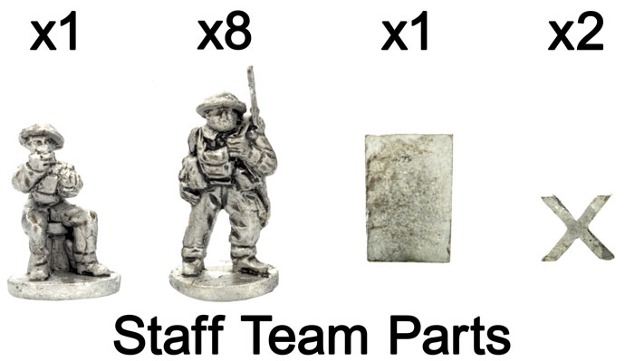 The Staff team parts
