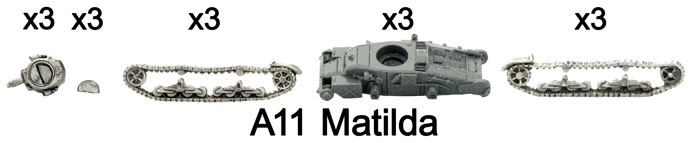 The A11 Matilda part