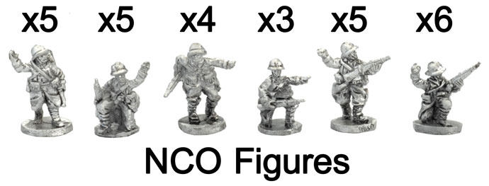 The French NCO Figures