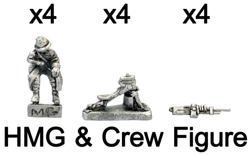 The French HMG and Crew figure