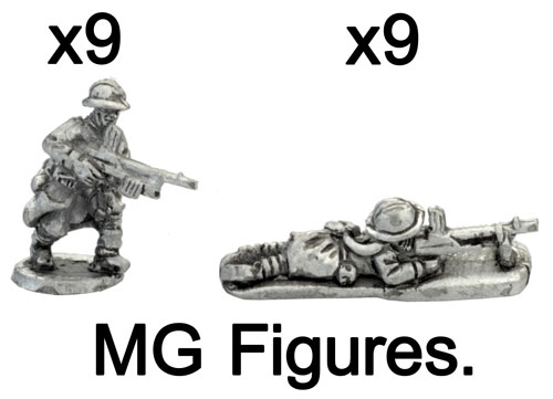 The French MG figures