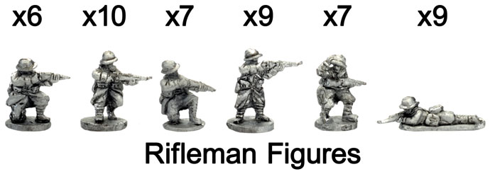 The French Rifleman figures