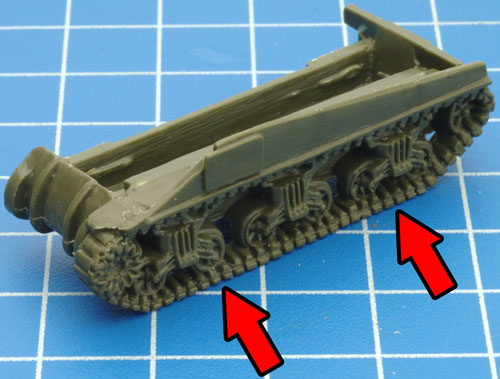 Assembling The Plastic Sherman V