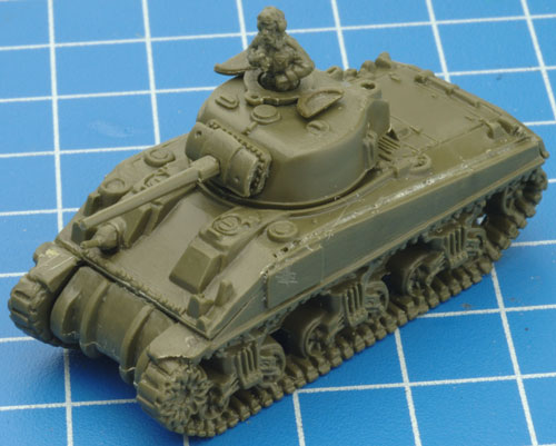 Learn how to assemble the plastic Sherman V