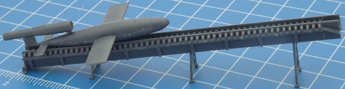 Learn how to assemble the V1 Flying Bomb Terrain feature