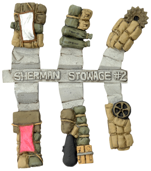 Sherman Stowage Sprue #2