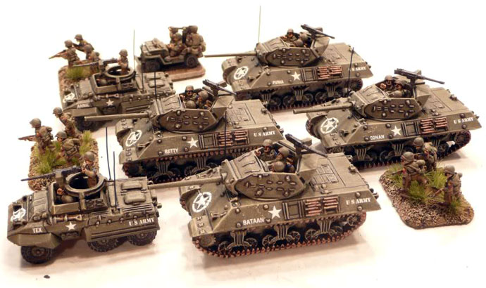 Tank Destroyer Platoon