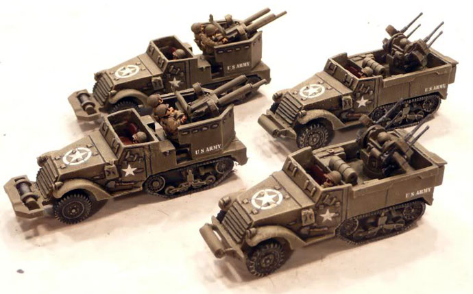 Anti-aircraft Artillery (Self-Propelled) Platoon