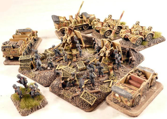 Heavy Anti-aircraft Gun Platoon
