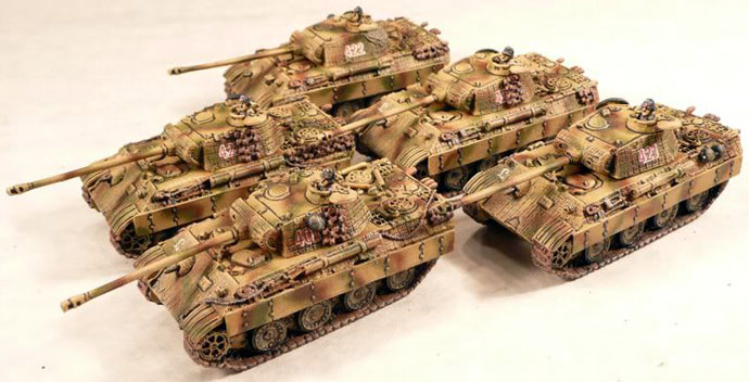 Panzer Platoon with Panther A