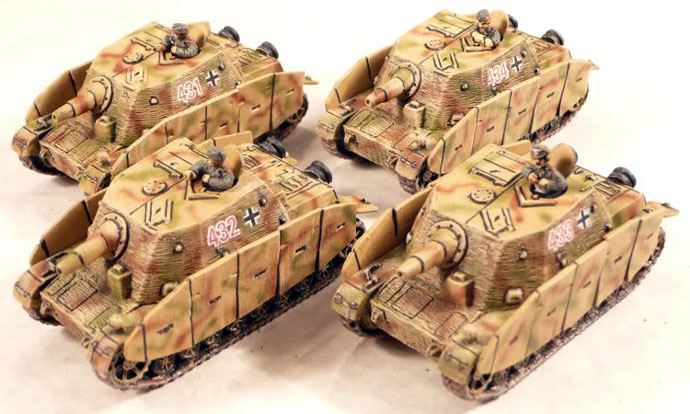 Assault Gun Platoon with Brummbärs